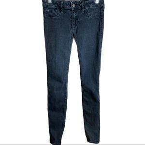 🔥Hollister Low Rise Super Skinny Black Jeans 26